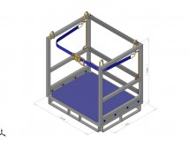Cefrank 12cyl.pallet with belt